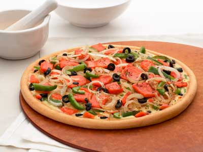 Canadian Pizza -Tom Yam Seafood Pizza