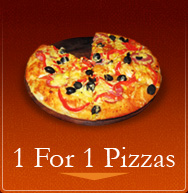 Canadina Pizza 1 For 1